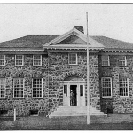 Liberty Corner Elementary School. Circa 1905, the village long suffered from cramped school conditions.